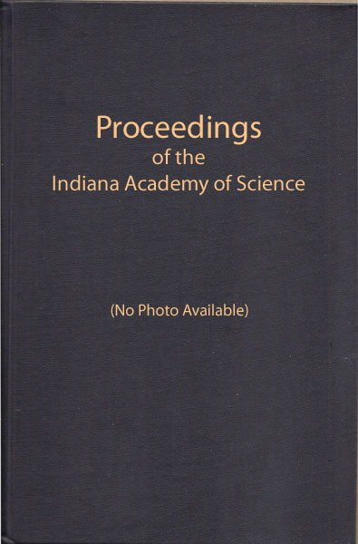 Proceedings of Indiana Academy of Science 99:2-4