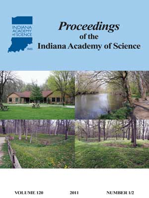 Proceedings of the Indiana Academy of Science 120:1&2 2011