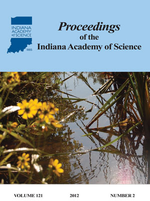 Proceedings of the Indiana Academy of Science 121:2 2012