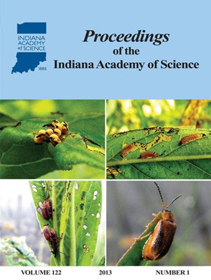 Proceedings of the Indiana Academy of Science 122:1 2013